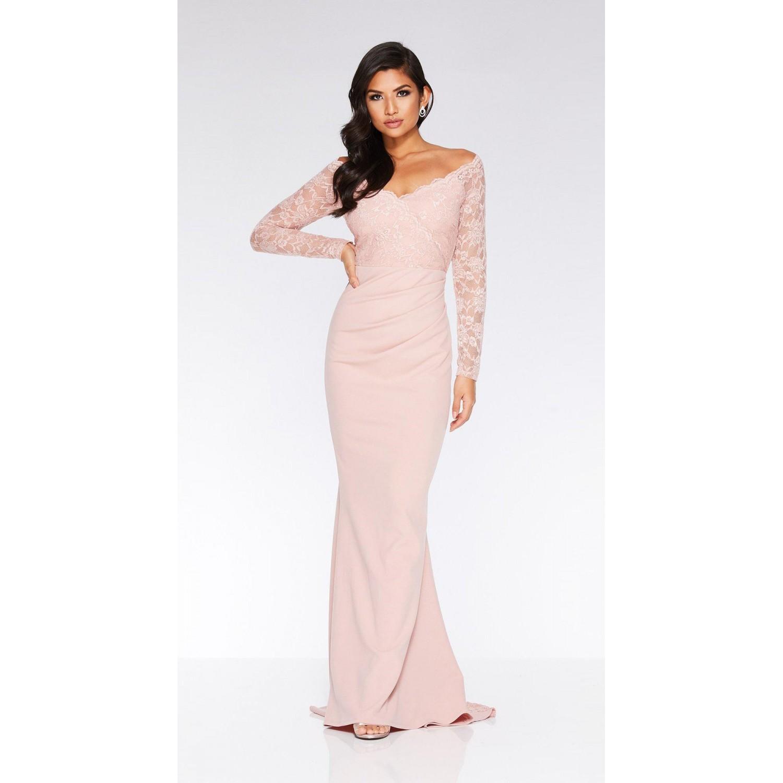 Φόρεμα για γάμο / αρραβώνα με δαντέλα  ΝΟΥΜΕΡΟ M-UK10