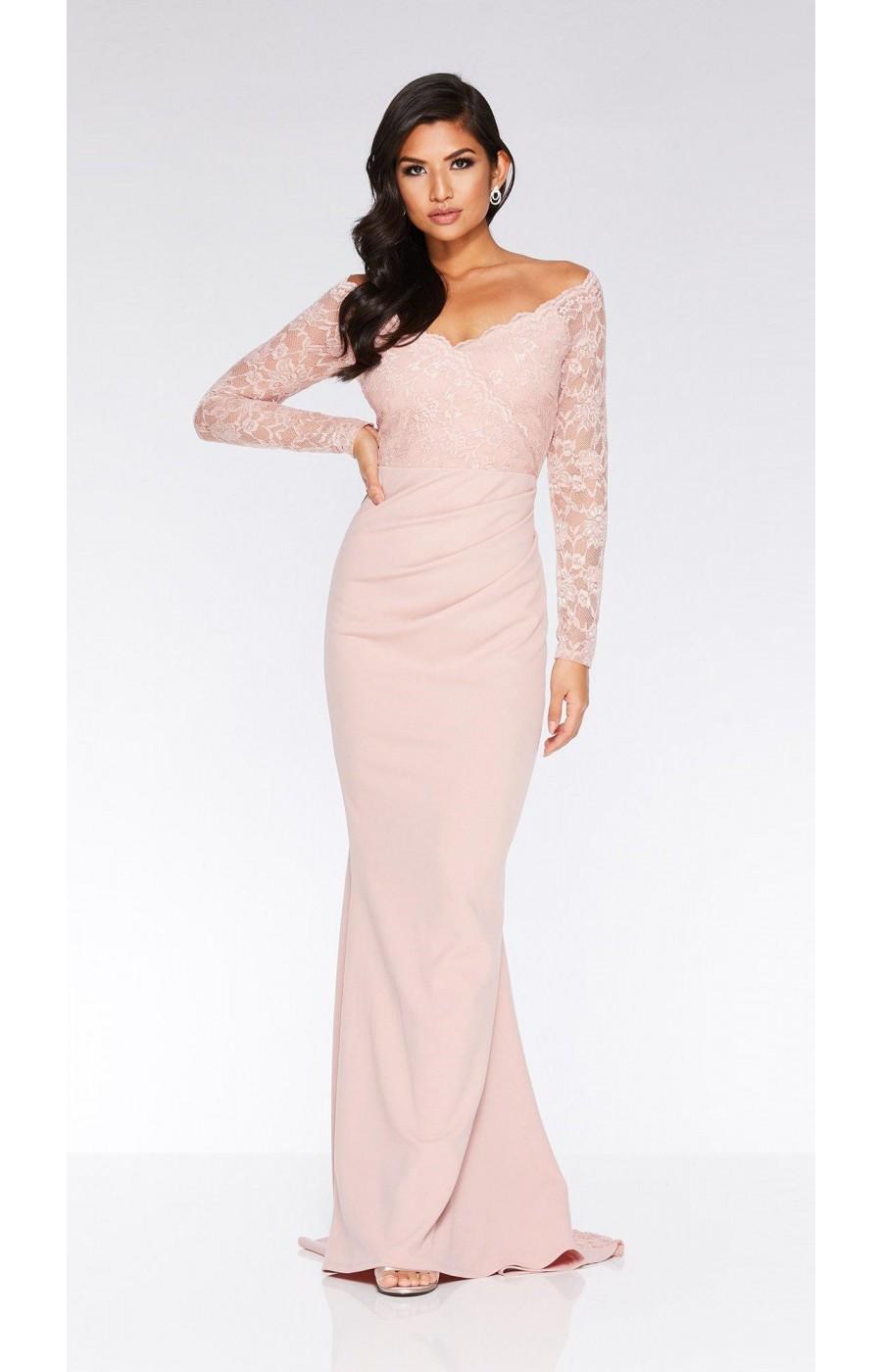 Φόρεμα για γάμο / αρραβώνα με δαντέλα