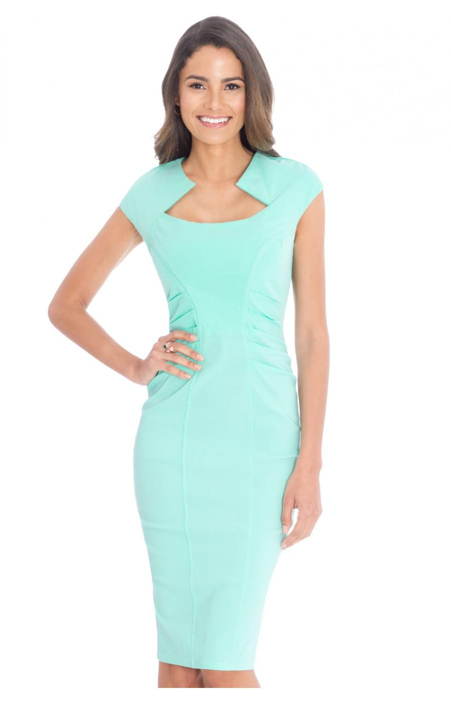 Μιντι ελαστικό φόρεμα