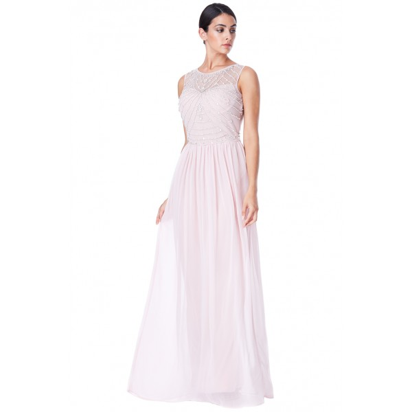 Μακρύ σιφον φόρεμα με αρχαιολελληνικό στυλ
