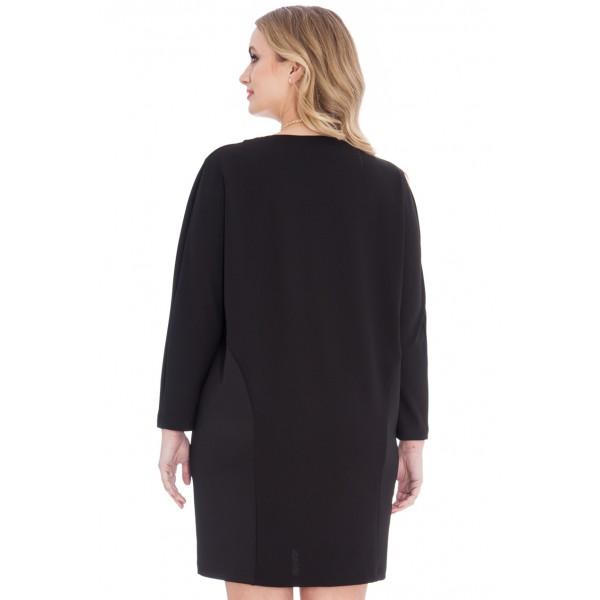 Μαύρο μπλουζοφόρεμα  ΜΕΓΑΛΑ ΜΕΓΕΘΗ