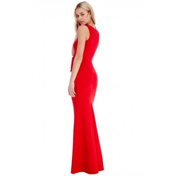 Επισημο μακρυ κοκκινο φορεμα