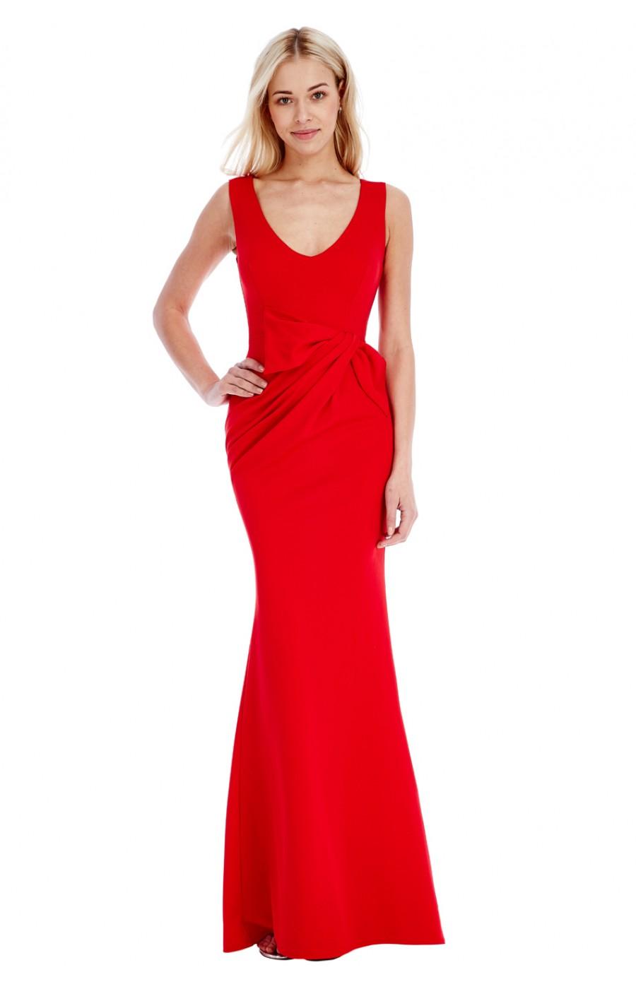 Μακρύ κοκκινο φόρεμα